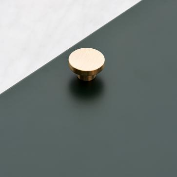 Poignée Mini-Rond laiton